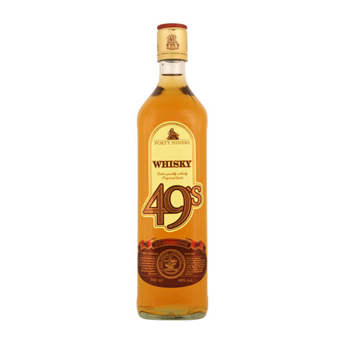 Whisky Forty Niners 40% 0,7 l; 0,05 l